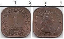 Изображение Монеты Великобритания Малайя 1 цент 1961 Бронза XF