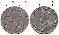 Изображение Монеты Северная Америка Канада 5 центов 1931 Медно-никель XF