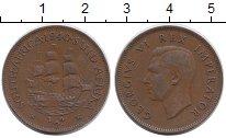 Изображение Монеты Африка ЮАР 1/2 пенни 1940 Бронза XF