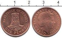 Изображение Монеты Остров Джерси 1 пенни 2003 Бронза UNC-