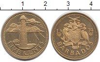 Изображение Монеты Северная Америка Барбадос 5 центов 1974 Латунь UNC-