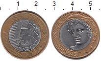 Изображение Монеты Бразилия 1 реал 2009 Биметалл XF