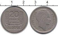 Изображение Монеты Африка Алжир 20 франков 1949 Медно-никель XF