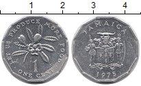 Изображение Монеты Северная Америка Ямайка 1 цент 1975 Алюминий UNC-