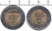 Изображение Монеты Европа Сан-Марино 500 лир 1996 Биметалл UNC-