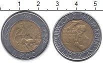 Изображение Монеты Европа Сан-Марино 500 лир 1994 Биметалл UNC-