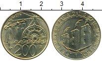 Изображение Монеты Европа Сан-Марино 200 лир 1992 Латунь UNC