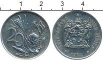 Изображение Монеты ЮАР 20 центов 1974 Медно-никель UNC-