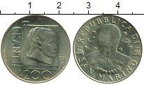 Изображение Монеты Сан-Марино 200 лир 1996 Латунь UNC Кант