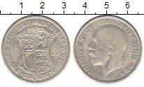 Изображение Монеты Европа Великобритания 1/2 кроны 1928 Серебро VF