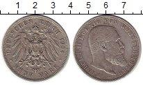Изображение Монеты Вюртемберг 5 марок 1904 Серебро XF