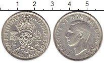 Изображение Монеты Европа Великобритания 2 шиллинга 1945 Серебро XF