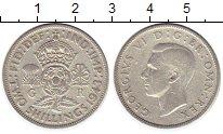 Изображение Монеты Великобритания 2 шиллинга 1943 Серебро XF