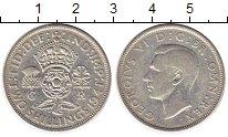 Изображение Монеты Европа Великобритания 2 шиллинга 1941 Серебро XF