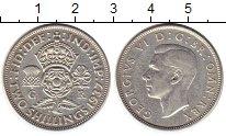 Изображение Монеты Европа Великобритания 2 шиллинга 1937 Серебро XF