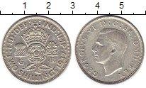 Изображение Монеты Великобритания 2 шиллинга 1937 Серебро XF Георг VI