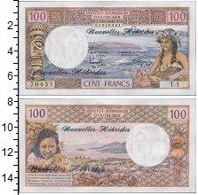 Изображение Банкноты Франция Новые Гебриды 100 франков 0  UNC