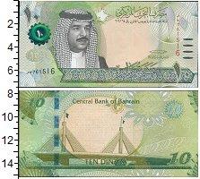 Изображение Банкноты Бахрейн 10 динар 0  UNC
