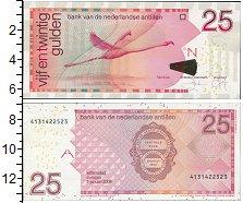 Изображение Банкноты Антильские острова 25 гульденов 2008  UNC