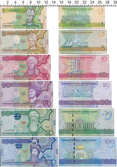 Изображение Банкноты Туркменистан 100 манат 2009  UNC