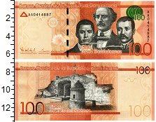 Изображение Банкноты Доминиканская республика 100 песо 2014  UNC