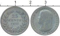Изображение Монеты Европа Нидерланды 25 центов 1895 Серебро VF
