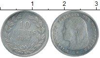 Изображение Монеты Европа Нидерланды 10 центов 1897 Серебро XF-