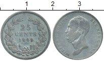 Изображение Монеты Европа Нидерланды 25 центов 1849 Серебро XF-