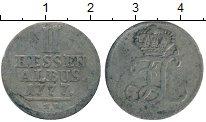 Изображение Монеты Германия Гессен 2 альбуса 1777 Серебро VF