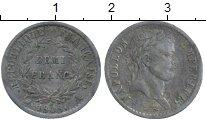 Изображение Монеты Франция 1/2 франка 1808 Серебро VF+ Наполеон Император