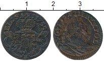 Изображение Монеты Польша 1 грош 1755 Медь XF-