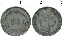 Изображение Монеты Дания 10 эре 1904 Серебро XF