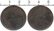 Изображение Монеты Европа Дания 5 эре 1874 Медь XF