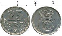 Изображение Монеты Европа Дания 25 эре 1922 Медно-никель XF