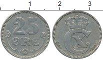 Изображение Монеты Европа Дания 25 эре 1920 Медно-никель XF