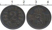 Изображение Монеты Норвегия 2 эре 1889 Медь XF