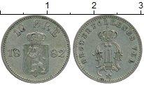 Изображение Монеты Европа Швеция 10 эре 1882 Серебро XF+