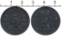 Изображение Монеты Норвегия 5 эре 1876 Медь XF