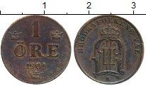 Изображение Монеты Европа Швеция 1 эре 1901 Медь XF