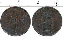 Изображение Монеты Европа Швеция 1 эре 1875 Медь XF