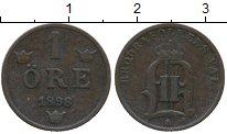 Изображение Монеты Европа Швеция 1 эре 1898 Медь XF