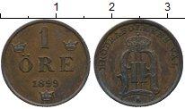 Изображение Монеты Швеция 1 эре 1899 Медь XF