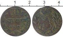 Изображение Монеты Германия Берг 3 стюбера 1807 Серебро VF+
