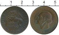Изображение Монеты Вестфалия 100 марок 1922 Латунь XF