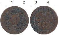 Изображение Монеты Германия Вальдек 6 пфеннигов 1730 Медь VF
