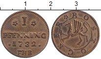 Изображение Монеты Росток 1 пфенниг 1782 Медь XF