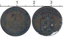 Изображение Монеты Гессен-Кассель 1 геллер 1842 Медь VF
