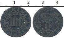 Изображение Монеты Германия Вальдек 4 пфеннига 1750 Медь XF-
