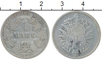 Изображение Монеты Европа Германия 1 марка 1873 Серебро VF