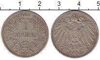 Изображение Монеты Европа Германия 1 марка 1893 Серебро XF